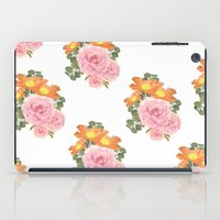 Summer Floral Print iPad Case