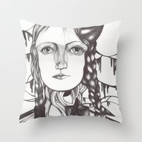 Recuerdos Throw Pillow