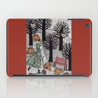 Autumn In The Park iPad Case