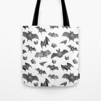 Batty Bats Tote Bag