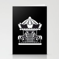Merry Go 'Round, Part II Stationery Cards