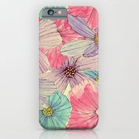 iPhone Cases featuring Watercolour Flowers by Tracie Andrews