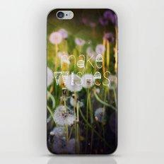 Make Wishes II iPhone & iPod Skin