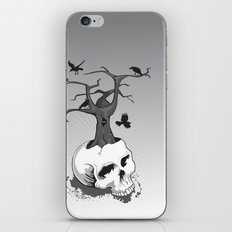 Skull and Tree iPhone & iPod Skin