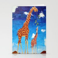 G is for Giraffe Stationery Cards
