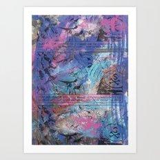 B@stard B@nker Art Print