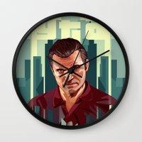 The Godfather, GTA 5 Mic… Wall Clock
