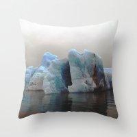Iceberg. Throw Pillow