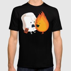 Friendly Fire Mens Fitted Tee Black SMALL