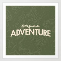 The Adventure Art Print