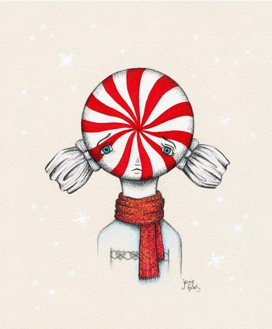 Minty Winter Art Print