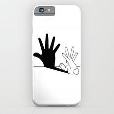 Rabbit Hand Shadow iPhone 6 Slim Case