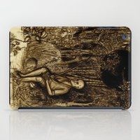 Mud Man iPad Case