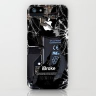 Broken, Rupture, Damaged… iPhone (5, 5s) Slim Case