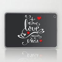 Valentine Love Calligrap… Laptop & iPad Skin