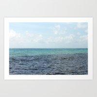 Beautiful Ocean Art Print