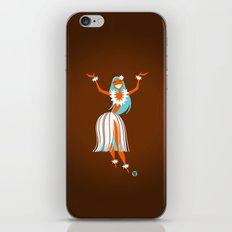 Hula Girl iPhone & iPod Skin