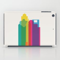 Shapes of Houston. Accurate to scale iPad Case