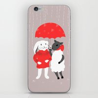 In the Rain iPhone & iPod Skin