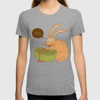 Slow and Steady Womens Fitted Tee Tri-Grey SMALL