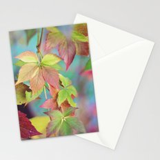 Colorful fall Stationery Cards
