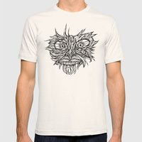 Face Flow Line Mens Fitted Tee Natural SMALL