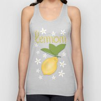 Lemon From Capri Unisex Tank Top