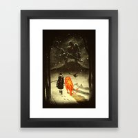 The Land Of Oz Framed Art Print