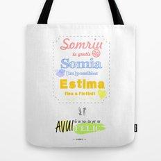 {CAT} SOMRIU · SOMIA · ESTIMA Tote Bag