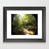 Creeky Framed Art Print