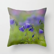 BLUEBELLS  Throw Pillow