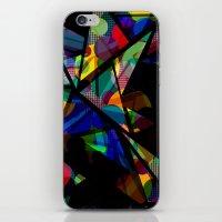 Geometric Splash iPhone & iPod Skin