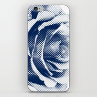 HALFTONE ROSE iPhone & iPod Skin