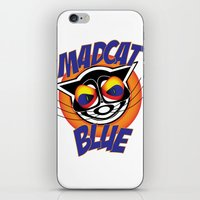 MadCat Blue iPhone & iPod Skin