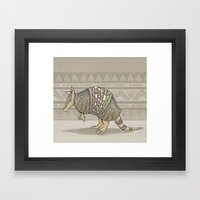 Abstract Armor Framed Art Print