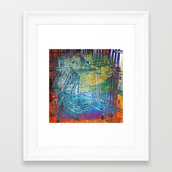 SCOOTMEHONEY Framed Art Print