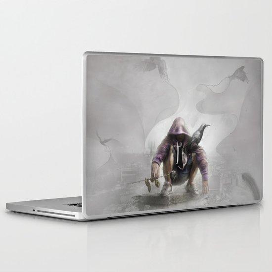 The Crow of Zagreb Laptop & iPad Skin