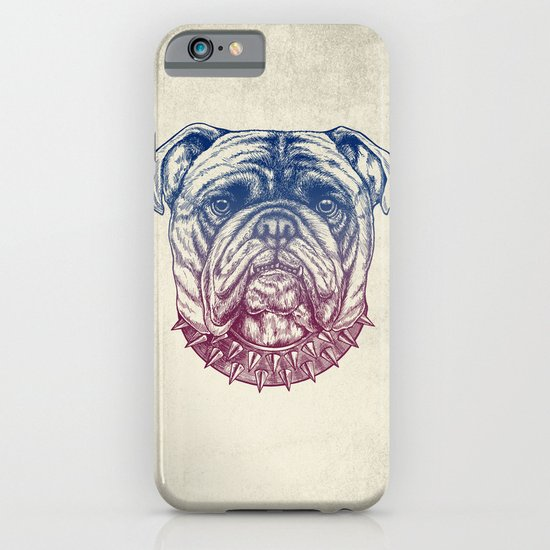 Gritty Bulldog iPhone & iPod Case