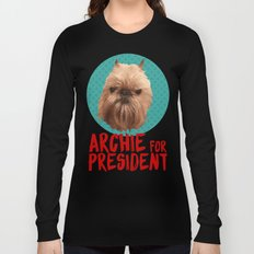 Archie for President Long Sleeve T-shirt