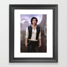 Ben Organa Solo Framed Art Print