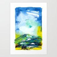 Ketchum Spring Art Print