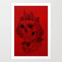 Untouchable City Art Print