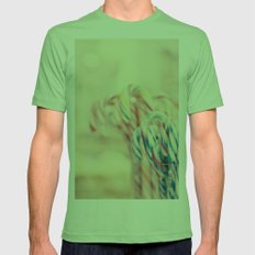 Merry Christmas Mens Fitted Tee Grass SMALL
