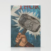 By the Hammer of Thor Stationery Cards