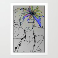 Fashion Latina Art Print