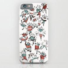 Cat Dance Party iPhone 6 Slim Case