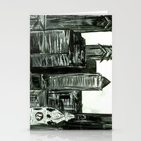 Black And White Philly S… Stationery Cards