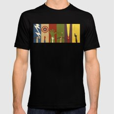 Assemble Mens Fitted Tee Black SMALL
