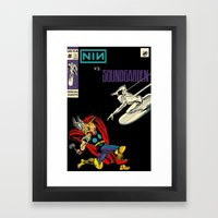 The Battle Continues Framed Art Print