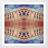 Building Center Art Print